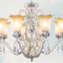 供应树脂欧式吊灯,简欧树脂铁艺田园餐厅灯,奢华复古灯具灯饰批发
