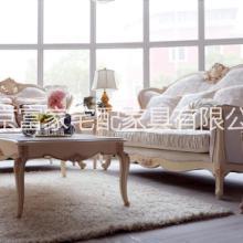 供应法式实木沙发组合富家宅配全屋定制实木家具橱柜厂家批发