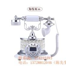 供应欧式仿古家庭办公室电话机欧式复古仿古电话机座机家用办公创意电话机工艺品古董固定电话批发