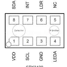 供应用于手机|智能手机|PDA的Sitronix原装正品传感器STK3420批发