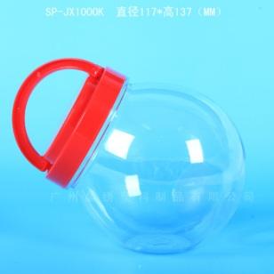 不二家棒棒糖瓶 PET透明罐 1000毫图片