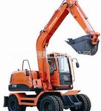 供应新源XY90轮胎式挖掘机