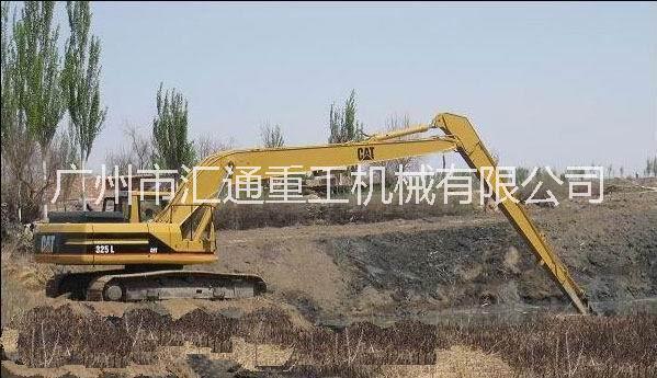 挖掘机加长臂、加长臂挖土机制造 、卡特18米挖机加长臂供应
