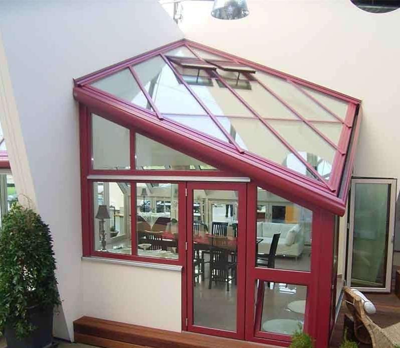 露臺樓頂花園陽光房鋼化中空玻璃價格