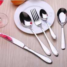供应直销 不锈钢餐具 刀叉勺定制LOGO