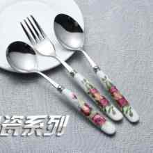供应不锈钢餐具 勺子 不锈钢尖勺 汤勺 酒店必备 居家