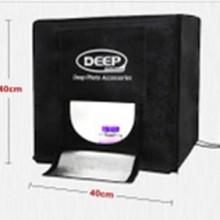 供应DEEP新一代40 LED专业摄影棚摄影箱套装便携拍照道具摄影器材批发