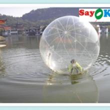 供应水球全国热销新款水上滚球游艺设施水上乐园充气产品批发