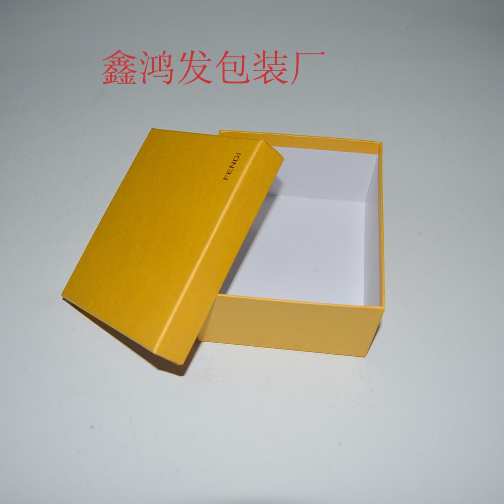 广州包装盒制造商 金黄色包装盒 怪物挂件礼品盒