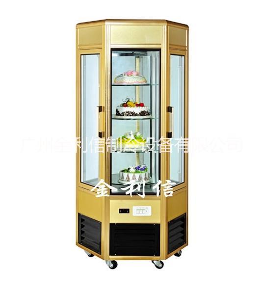 供應蟲草冷藏櫃,藥材展示櫃,六角冷櫃