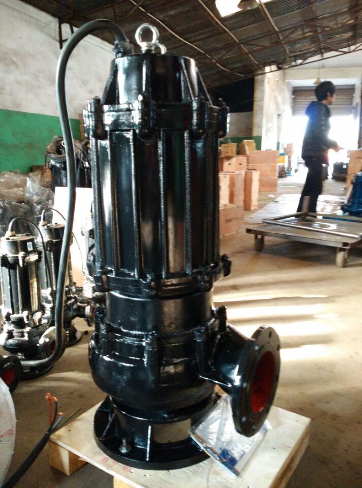 现货供应2寸潜水式排污泵 50WQ-9-15-1.1污水泵 国际法兰污水泵   1.1KW国际法兰污水泵