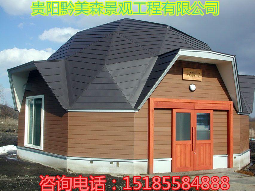 黔南贵州木屋建筑展示店