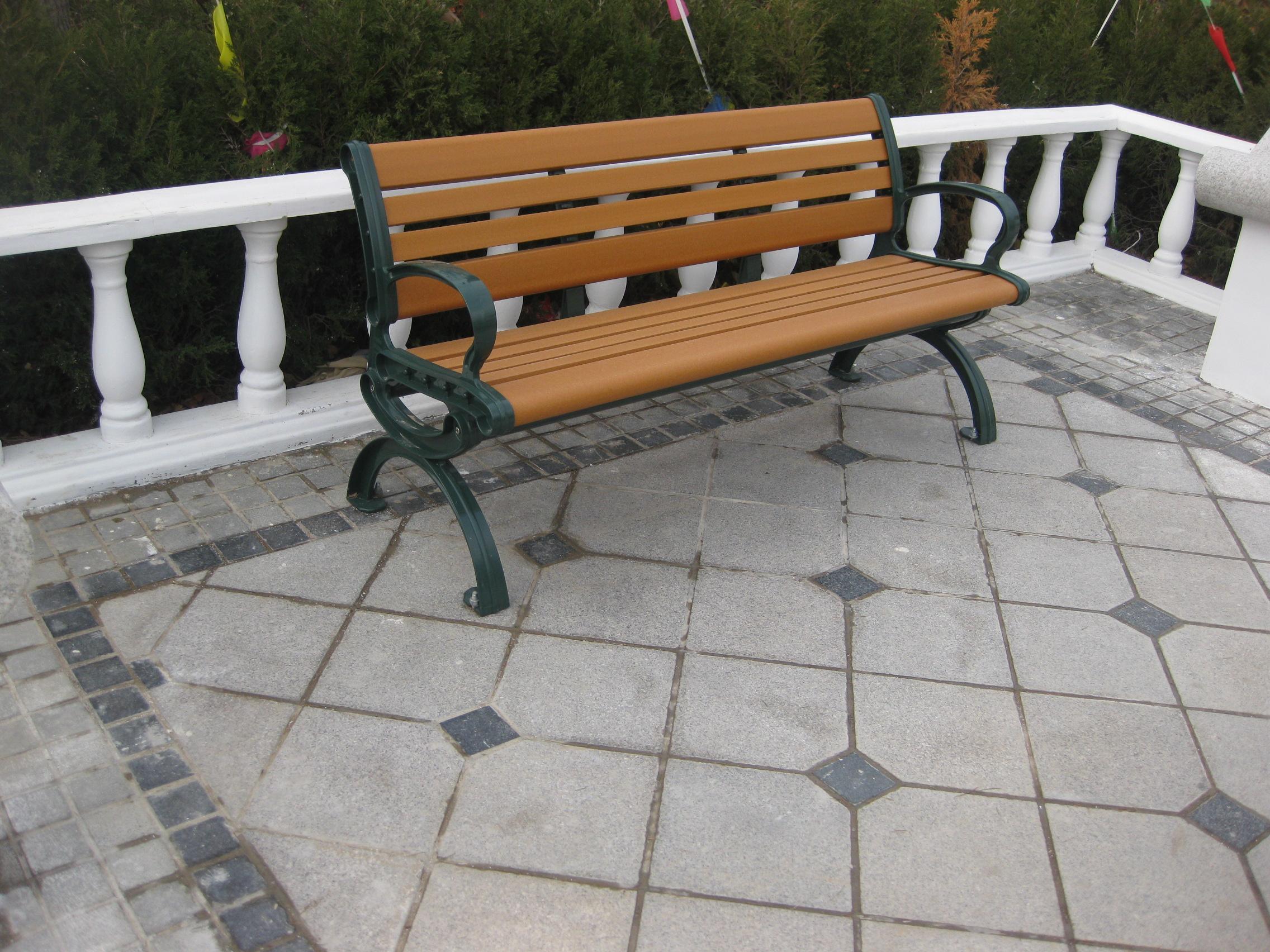 公园椅子 防腐木园林座椅批发