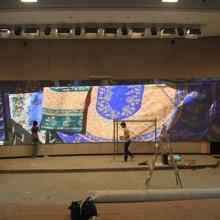 供应和田显示屏工厂,专业室内LED电子大屏幕制造图片
