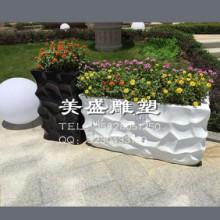 供应玻璃钢花盆方形成都玻璃钢花盆方形景观雕塑玻璃钢花盆方形图片