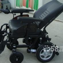 供应威之群皮革1018电动轮椅后背可躺豪华皮革