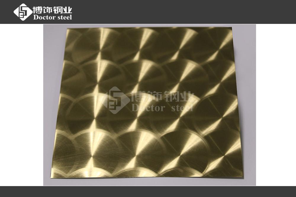 供应电梯装饰应用304钛金不锈钢镭射板  不锈钢板镭射加工厂家
