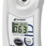 供应用于测量糖酸度比的蓝莓数显酸度计