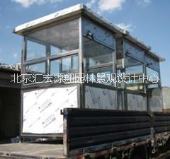 供应不锈钢岗亭制作厂家,北京岗亭制作厂家