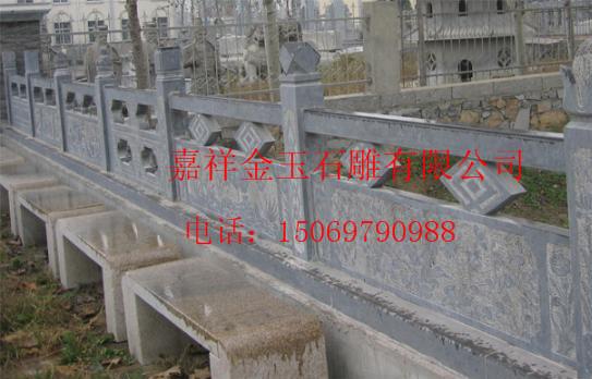 汉白玉石雕栏板石雕栏杆护河板  汉白玉石雕栏杆出售  汉白玉