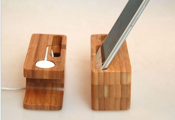 苹果手机竹木支架厂家销售