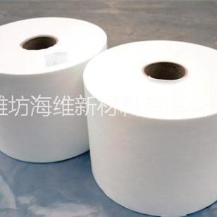 白色平行铺网水刺布 限时特价图片