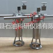 法兰式高温反应釜石油科研仪器图片