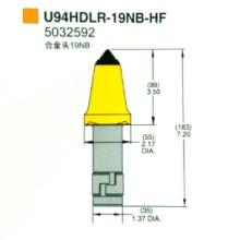 厂家直销凯南麦特U94采煤机截齿型号齐全图片