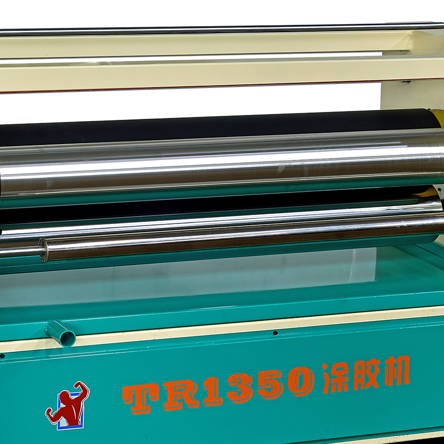 1350型单面涂胶机 小型双面自动涂胶机 喷胶机生产厂 板式木工机械涂胶机厂商 铁人木工机械过胶机 喷胶机批发