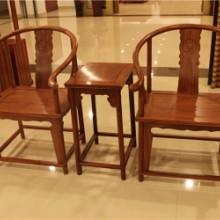 供应红木圈椅花梨木围椅实木座椅坐板加宽更加舒适造型优美很好的会客家具批发