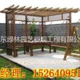 潍坊专业设计安装仿木花架景观公司,潍坊仿木花架直销商批发价钱