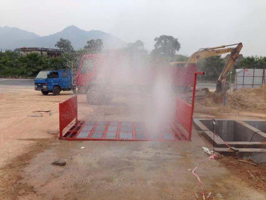 惠州建筑工程专用洗车机,工程洗轮机