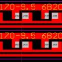 现货2835灯珠20串6并120灯铝基板图片