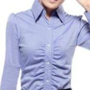 普宁女式职业衬衫衬衣定制订做加工图片