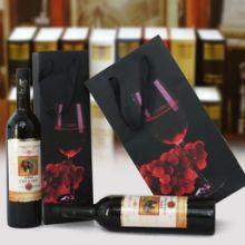 康宁包装供应红酒手提纸袋,订制各种手提袋低价订购,满额包邮批发