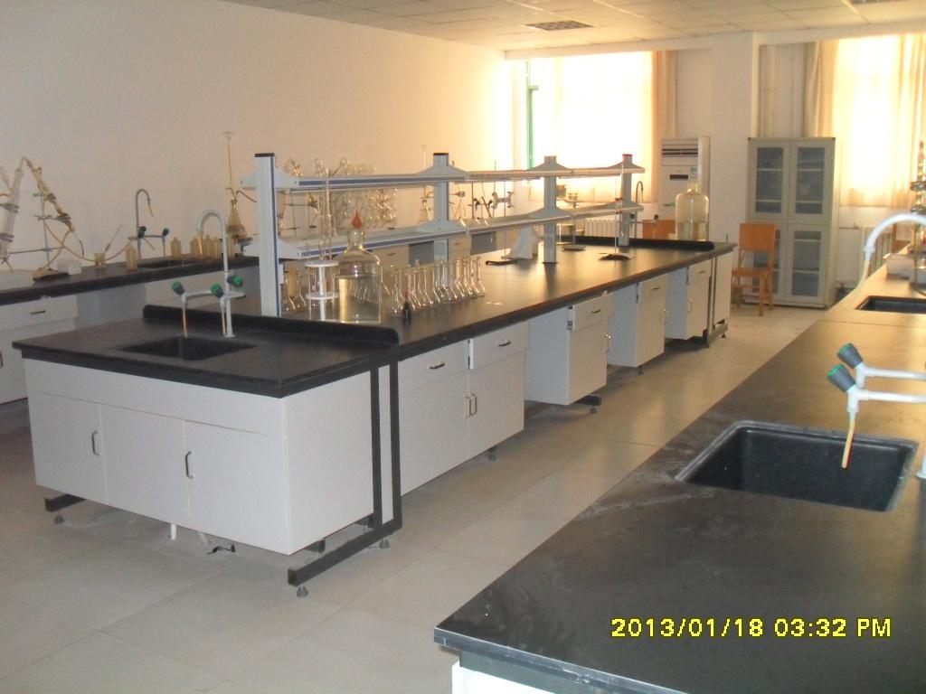 供应批发零售钢木边实验台 实验室家具操作台 实验室家具中央台
