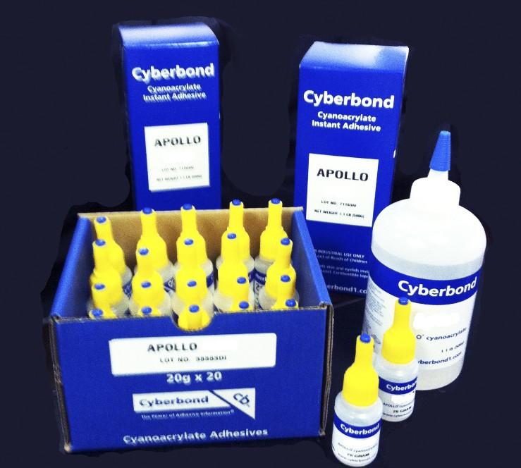 供应用于粘接的赛博邦阿波罗快干胶UV胶医疗级胶水