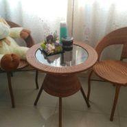 藤椅三四件套咖啡休闲桌椅阳台桌椅图片
