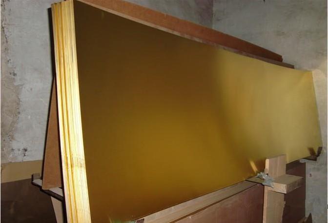 供应用于雕刻的H62光亮黄铜板 黄铜板价格