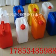 供应化工桶、食品桶、药液塑料桶厂家、10KG方形堆码塑料桶批发
