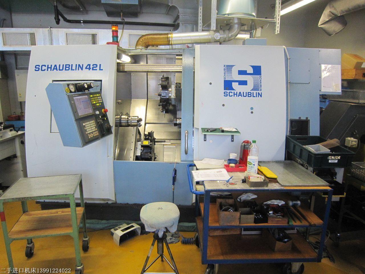 供应西宁二手肖柏林车铣加工中心,瑞士二手SCHAUBLIN 42L TM-6车铣加工中心