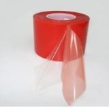 供应用于的红色高粘透明PET双面胶带