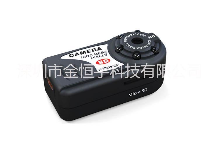 供应用于运动拍摄的高清摄像机Q5迷你红外夜视摄机
