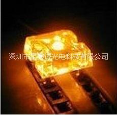 供应用于LED发光字|LED模组 汽车转向灯用食人鱼黄光 厂家直销上海食人鱼黄光LED 食人鱼LED 黄光食人鱼