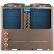 供应西安长安区美的空气能热水器批发 厂家直销2匹3匹5匹8匹10匹15匹20匹 商用型空气能热水机