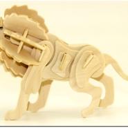 木制3D拼图玩具厂图片
