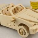 供应东莞木质冲压加工,3D仿真模型,木制DIY小汽车模型玩具,儿童益智类玩具加工