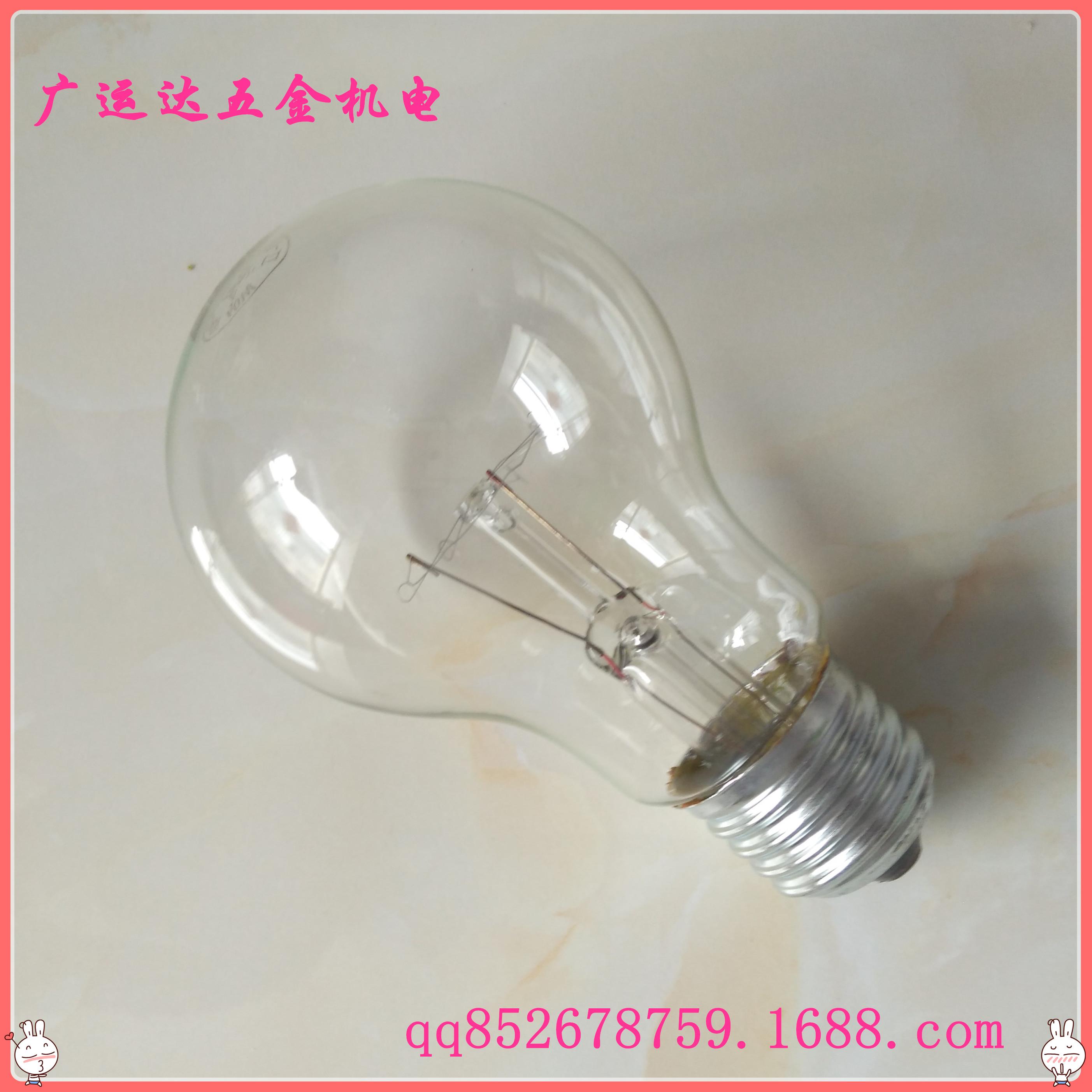 厂家供应220V 20W 爱迪生 钨丝 普通 照明 白炽灯泡 用于建筑工程 物业 单元楼道 照明灯泡