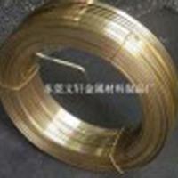 供应用于插头|拉链的H62插头扁线 插头扁线厂家