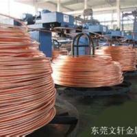 供应用于铆钉的福建红铜线厂家 红铜线厂家直销 黄铜扁线压扁加工